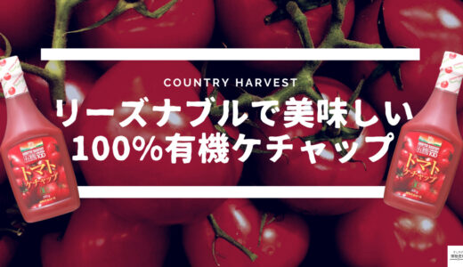 【超おすすめ】リーズナブルで美味しい有機トマトケチャップ!高橋ソース【カントリーハーヴェスト】