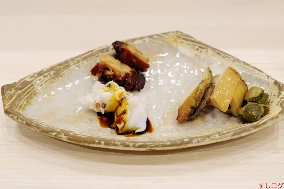 材木町奈可久煮もの3種盛り
