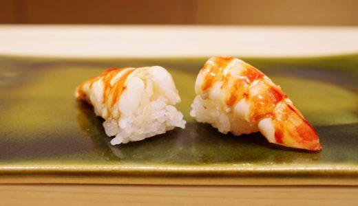 すしログ:すきやばし次郎の遺伝子!端正で旨い米酢のシャリ。鮨みずかみ(半蔵門)
