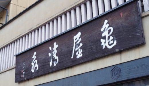 すしログ和菓子編 No. 45 亀屋清永@祇園(京都府)