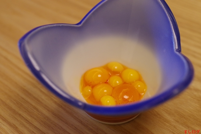 """""""胎卵の塩漬け"""