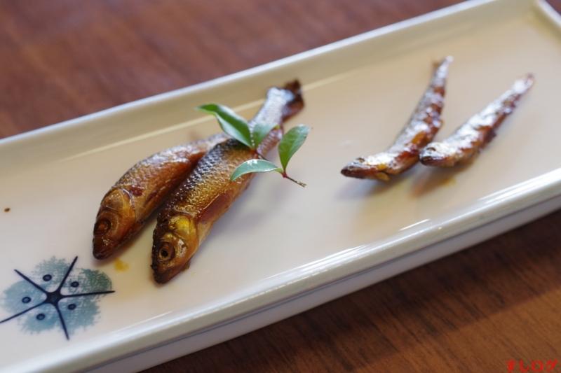 鮎とホンモロコの佃煮