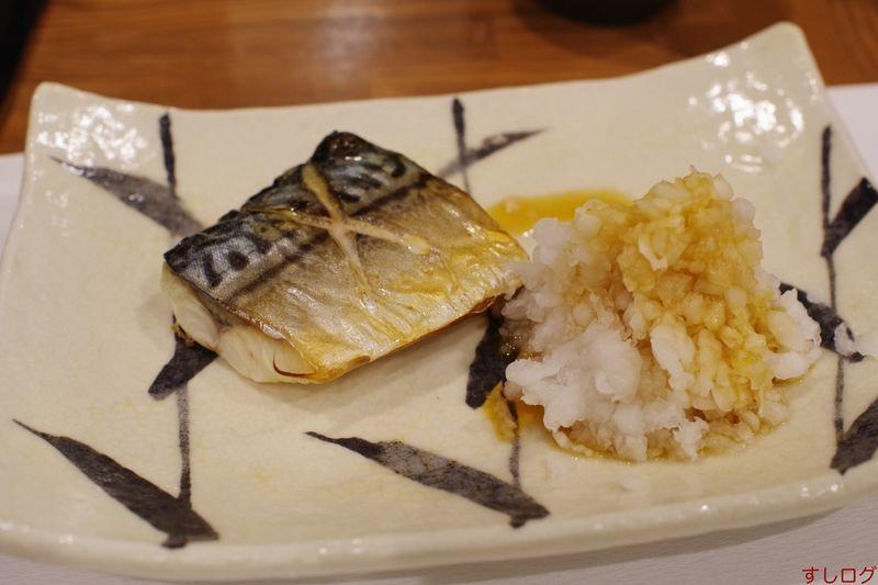 ねぎまさんの鯖塩焼き