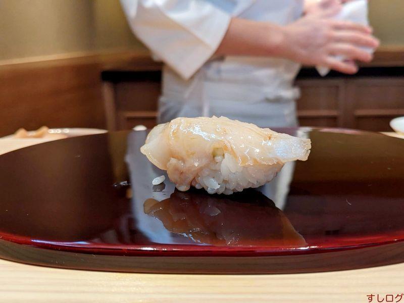 鮨あおのミル貝