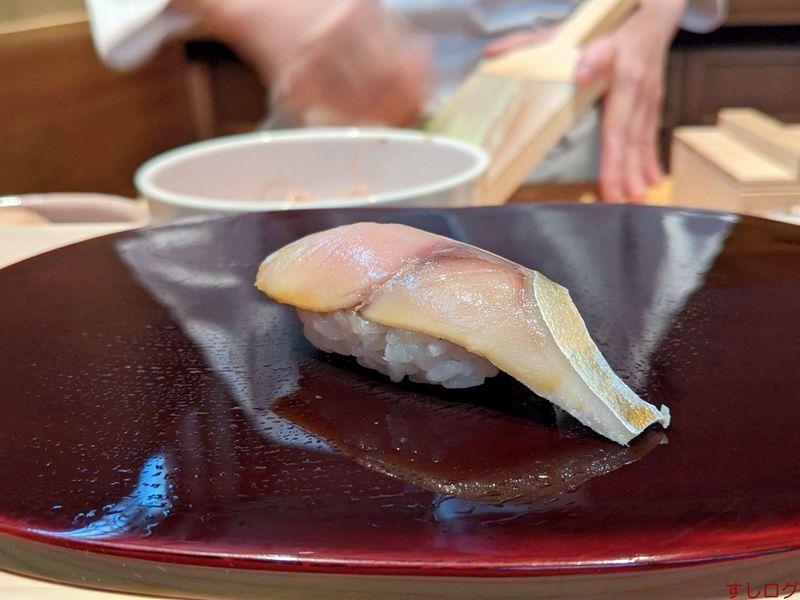 鮨あおの鯖