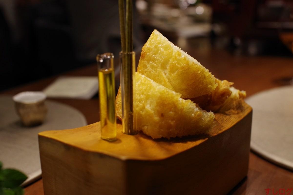 草片生姜醤油のフォカッチャ
