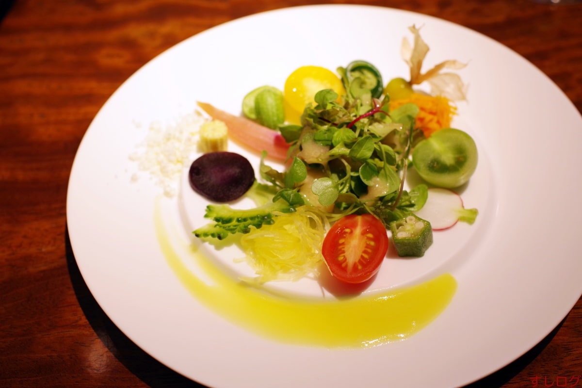 中土サラダ