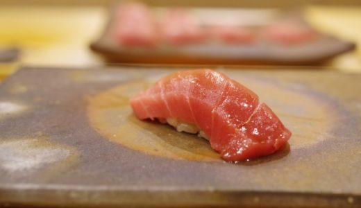 すしログ:キレがある赤酢のシャリと男らしい握り!築地で鮨なら鮨桂太(けいた)