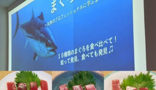 すしログ:マグロの勉強会に参加して11種類のマグロを食べ比べした話。