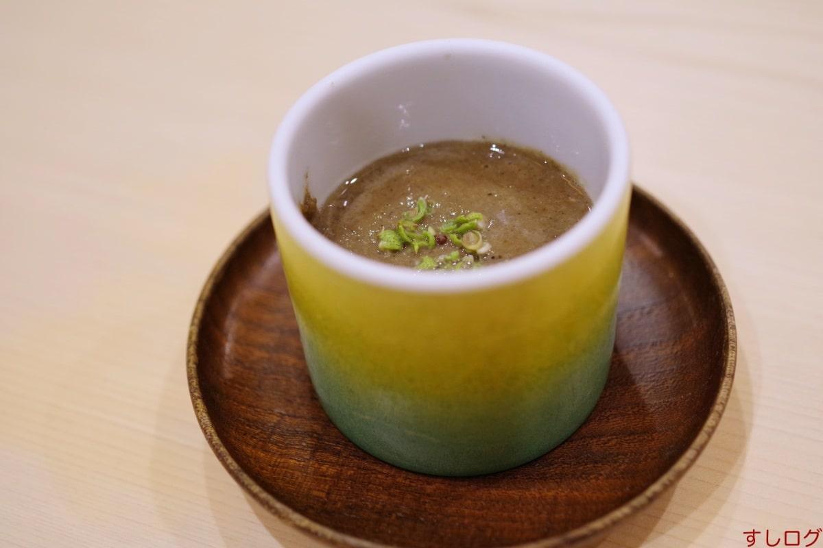 鮨わたなべ琵琶湖産天然小鮎の茶碗蒸し
