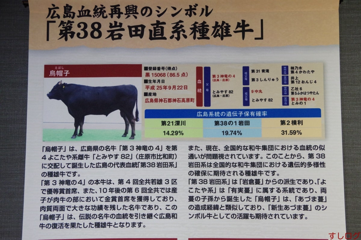 広島和牛鳥帽子