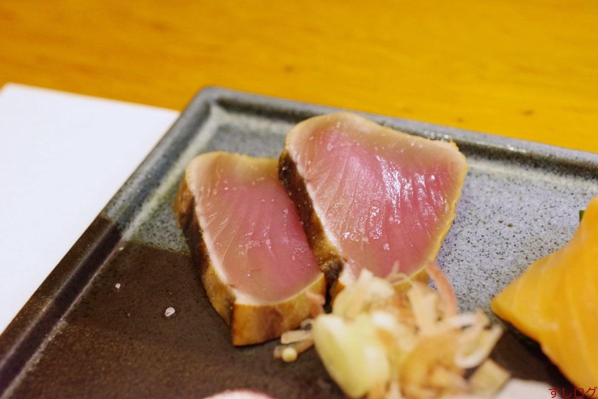 おけい鮨カツオのたたき