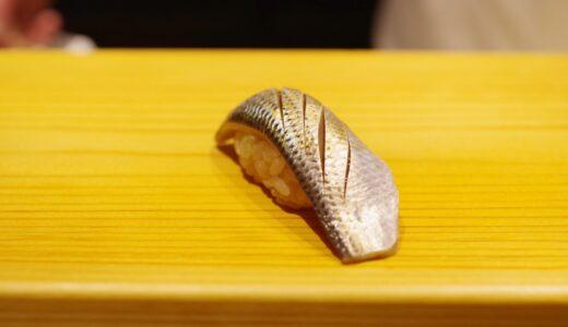 すしログ:古典の中にある遊び心。大ぶりなシャリが魅力の新橋・冨所