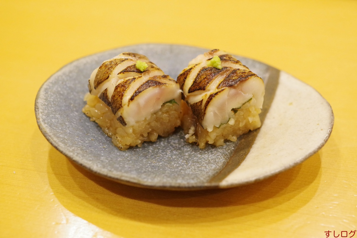 太刀魚の棒寿司