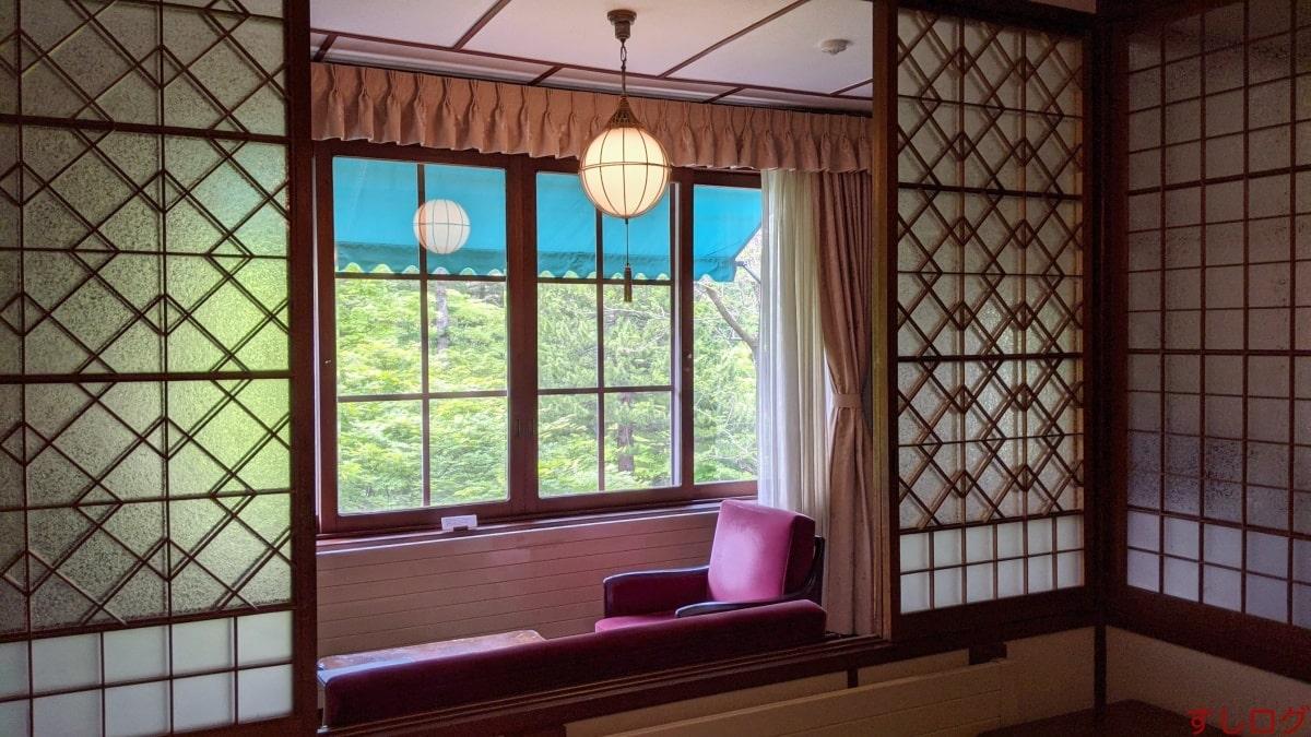 万平ホテル客室(アルプス館)