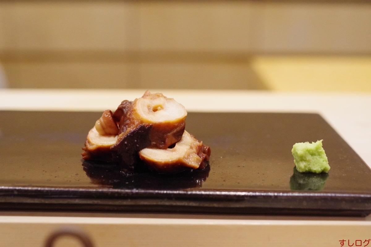 鮨きむら煮蛸