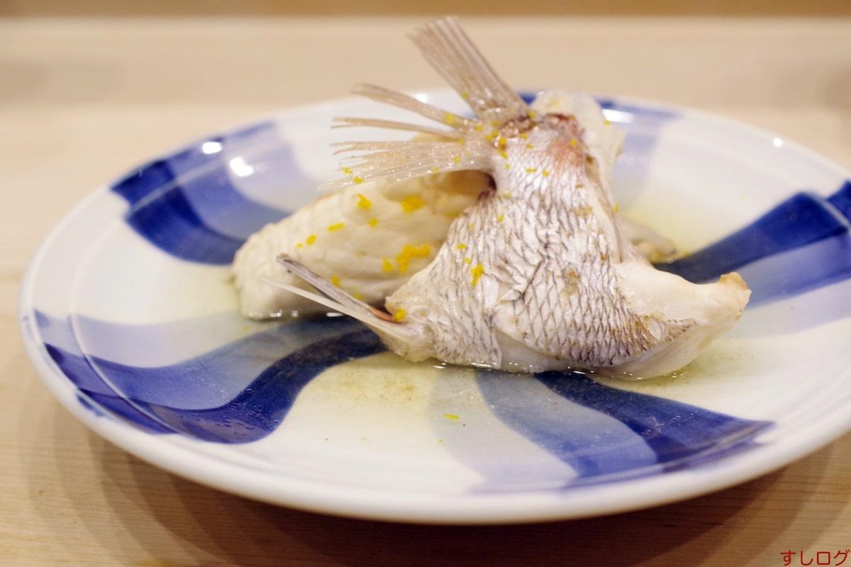 奈可久鯛の兜煮