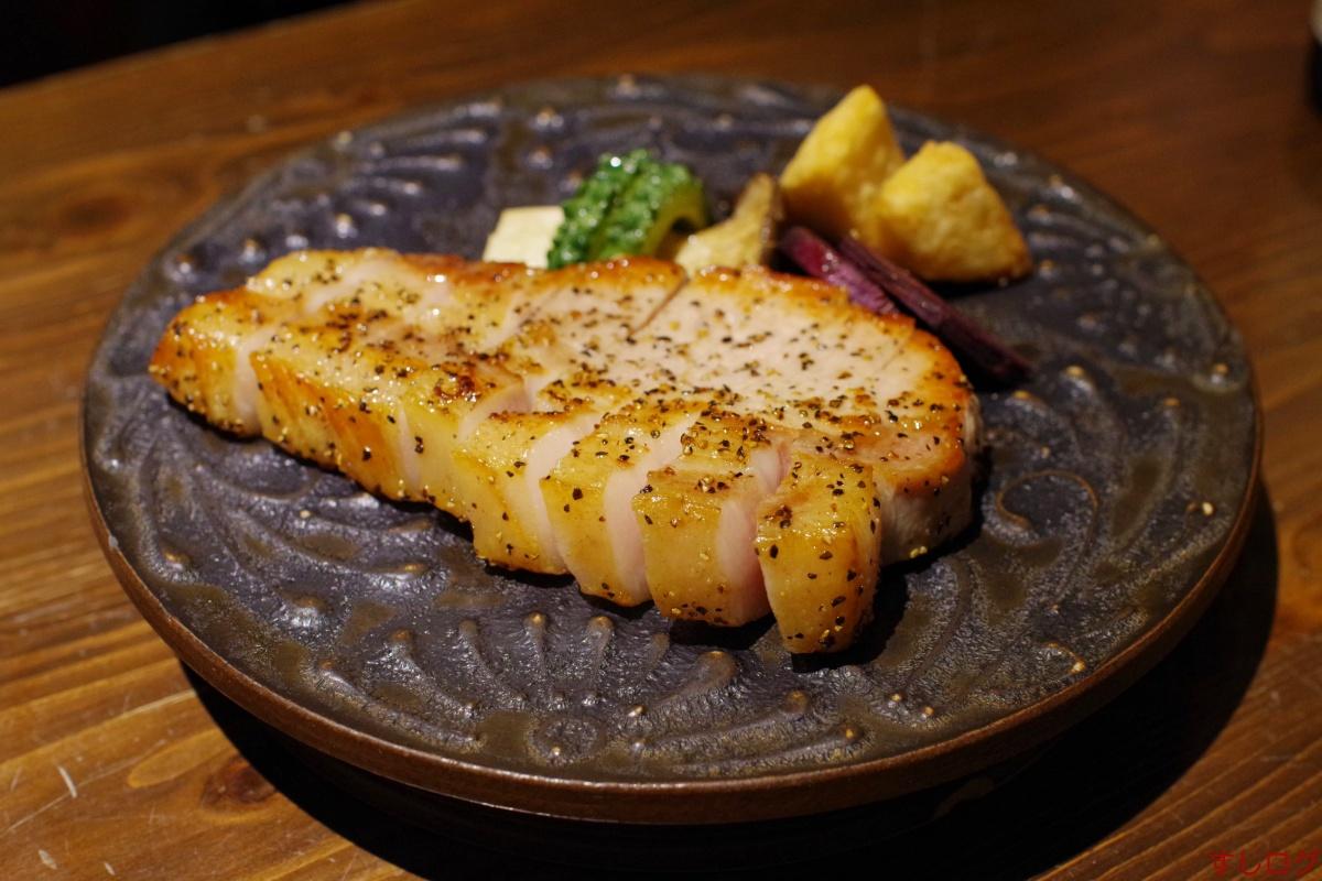 沖縄県産きびまる豚ロースソテー
