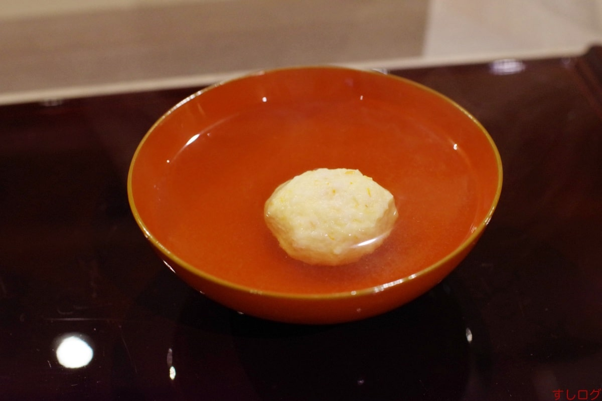 江戸前芝浜椀:芝海老真薯02