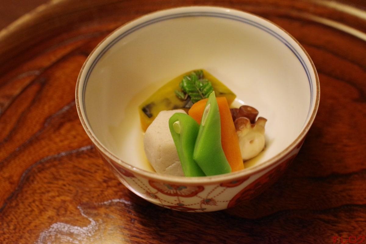 たん熊炊き合わせ:蛸と軽井沢野菜