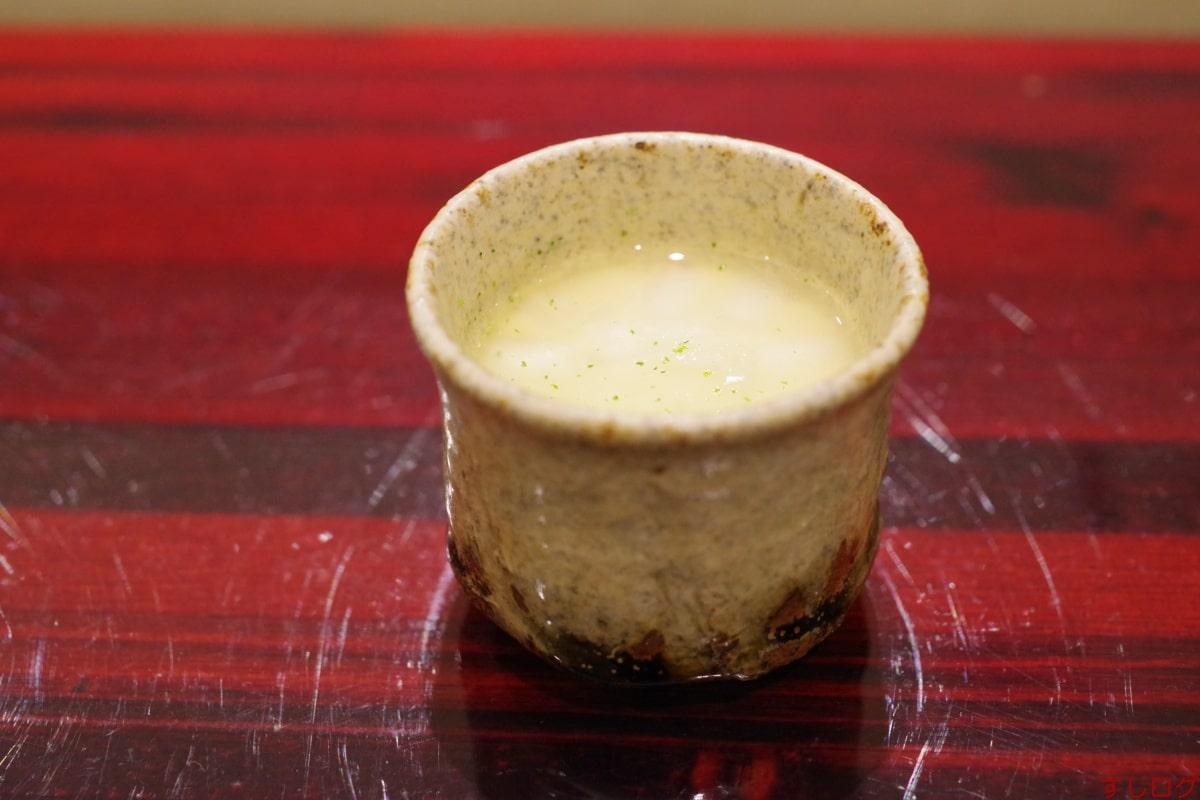 鮨島津茶碗蒸し