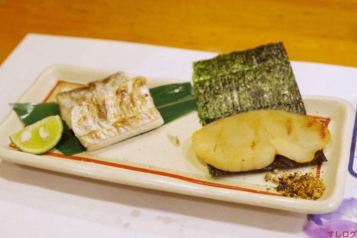 おけい鮨タイラギ太刀魚