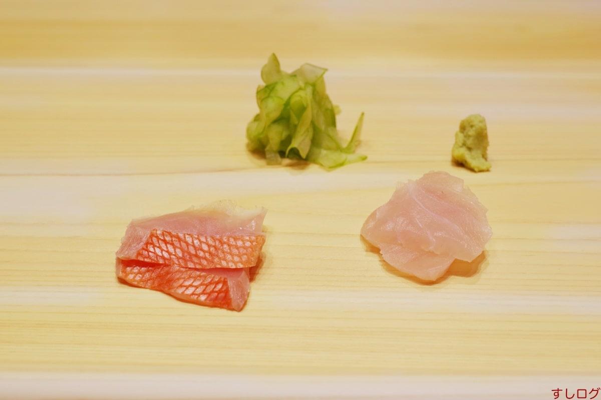 佐たけ石川産のアラ、銚子産の金目鯛