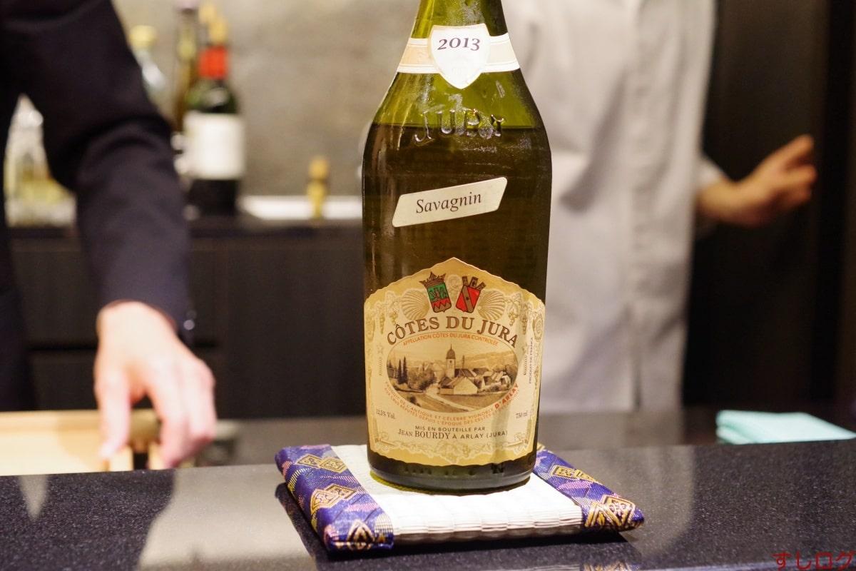 あじゅう田Côtes du Jura Savagnin 2013