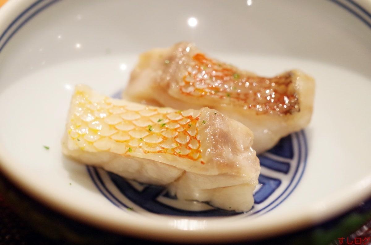 吉鮨甘鯛の焼き物