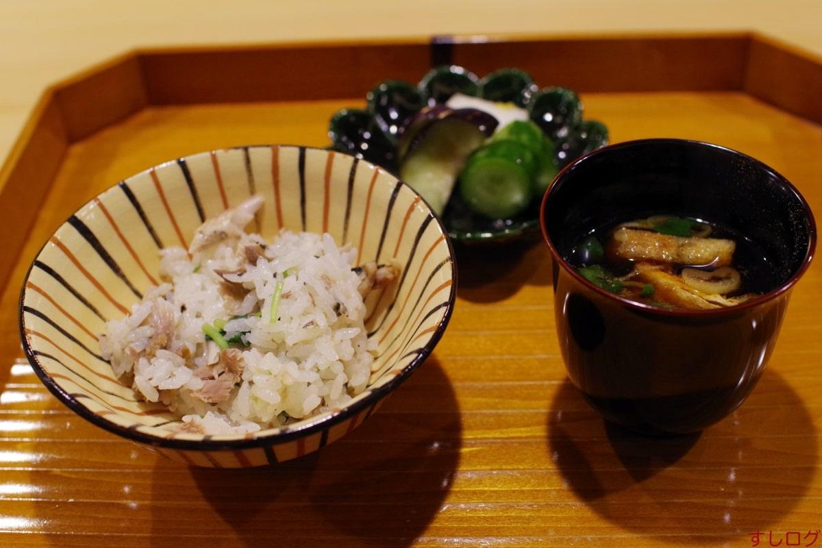 そうびき新秋刀魚の炊き込みご飯01