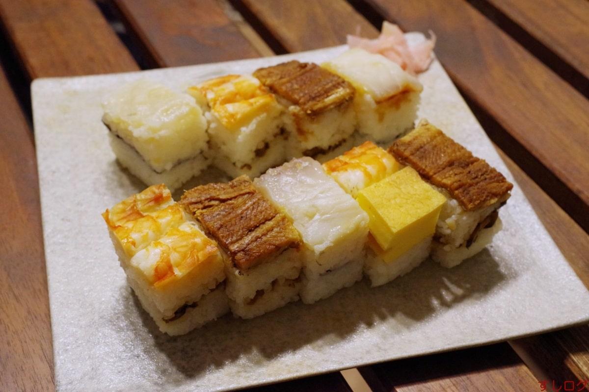 たこ竹箱寿司